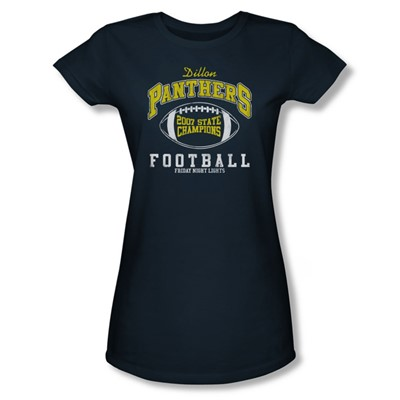 Friday Night Lights - State Champs Juniors T-Shirt In Navy