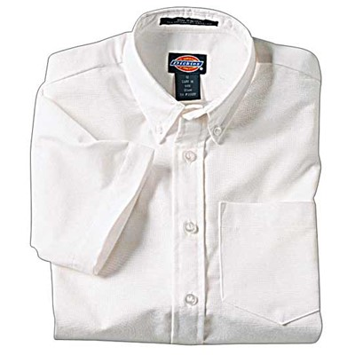 Dickies - KS920 Boys Oxford Shirt - Short Sleeve