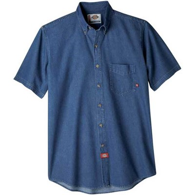 Dickies - WS300 Short Sleeve Denim Work Shirt