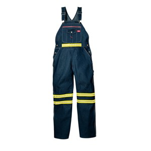 Dickies - VB505 Bib Overalls With Yellow Tape 'Non-Ansi'