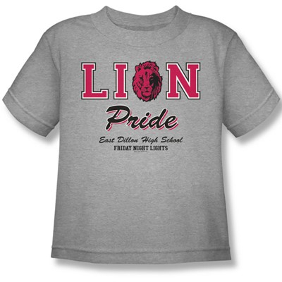 Friday Night Lights - Lions Pride Juvee T-Shirt In Heather