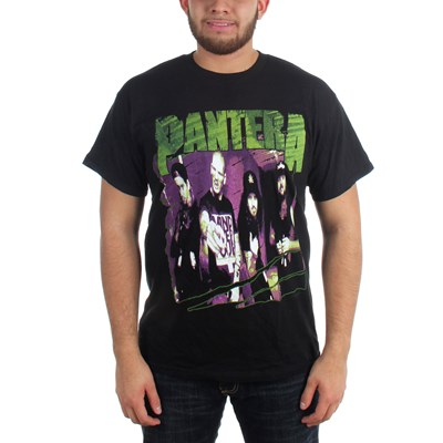 Pantera - Mens Group Sketch T-Shirt in Black