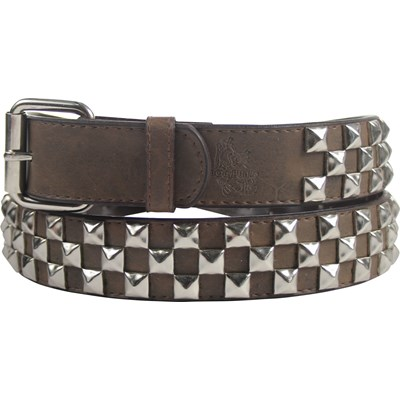 BodyPunks - Pyramid Studded Leather Belt (Sizing V1)