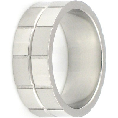 Stainless Steel Ring by BodyPUNKS (SSRX0272)