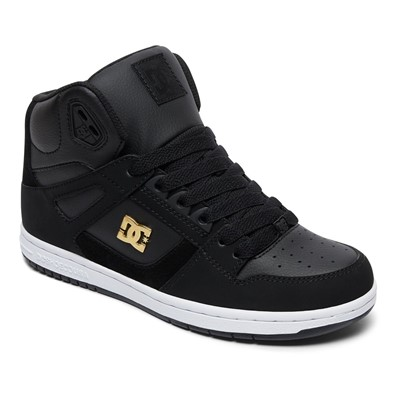 DC- Young Womens Rebound High Se Hi Top Shoes