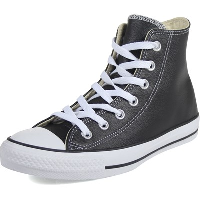 16403f40e256 Converse Chuck Taylor All Star Shoes (1S581) Hi Black Leather