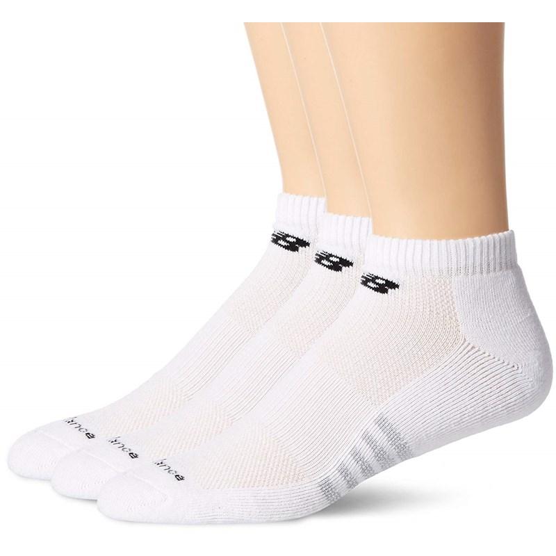 782f4e1c New Balance - Mens Performance Cotton Low Cut 3 Pack Socks