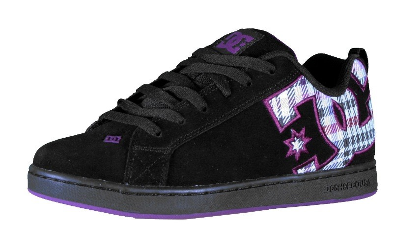 black and purple dc shoes, OFF 78%,Free