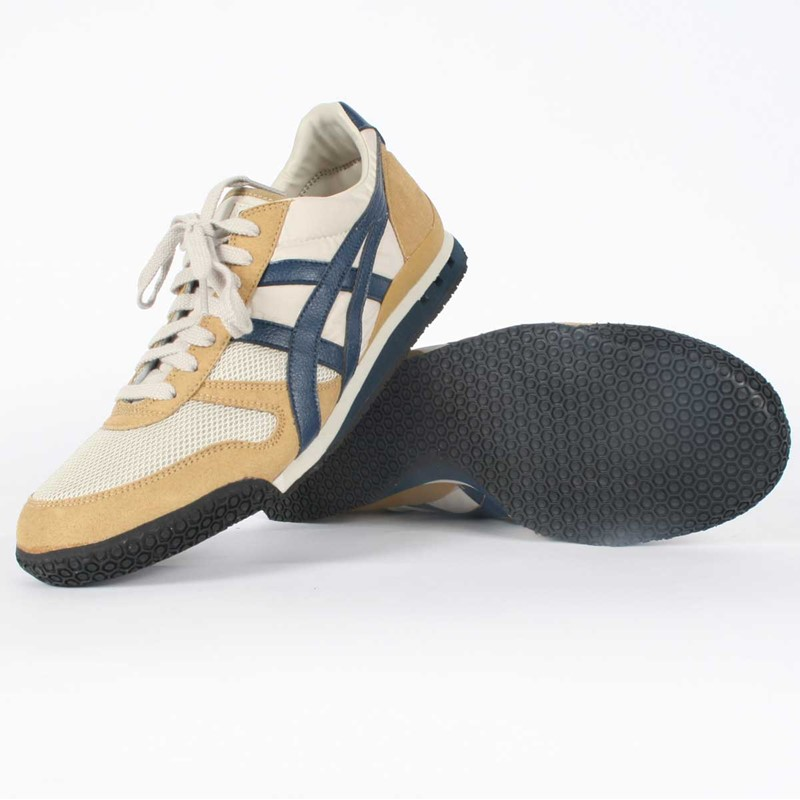 info for dee47 a1e49 Onitsuka Tiger: Asics - Mens Ultimate 81 Shoe In Greige/Navy