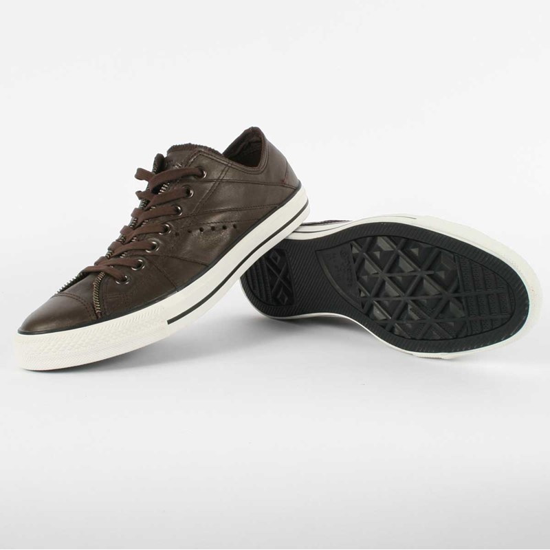 2e02d2f202 Converse. Converse - Chuck Taylor All Star Motorcycle Jacket Shoes in  Chocolate