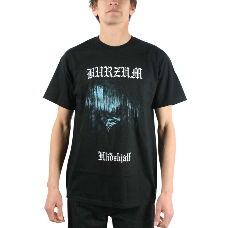 Burzum - Mens Hlidskjalf T-shirt in Black