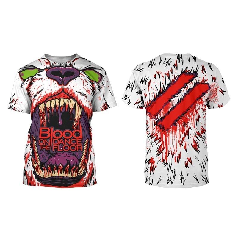 Blood On The Dance Floor Mens Polar Bear All Over T Shirt In All Over Tee