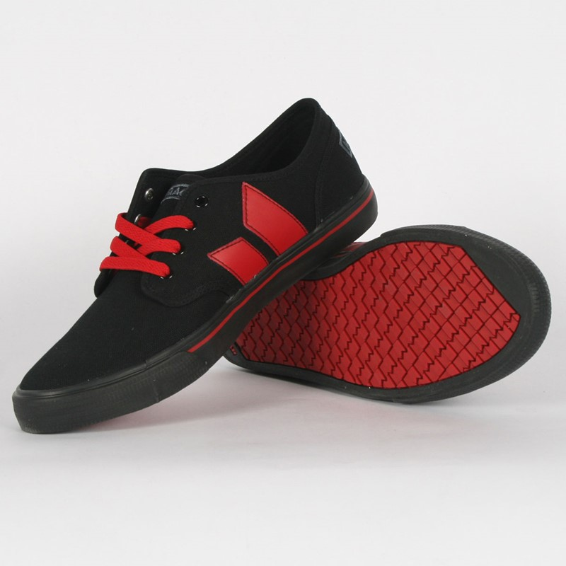 Macbeth Shoes Black Red