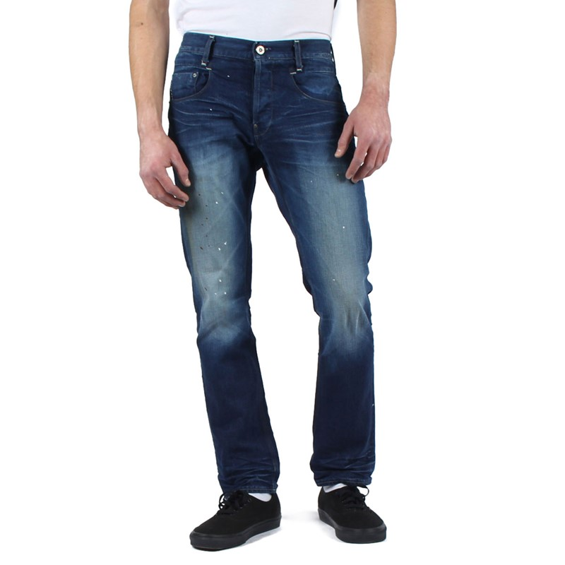 G Star Raw Mens New Radar Slim Fit Jeans in Medium Aged