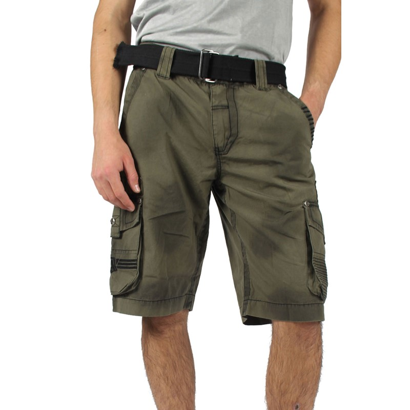 3b619db8d1d Affliction - Mens Wild Law Cargo Cargo Shorts In Miltary Green