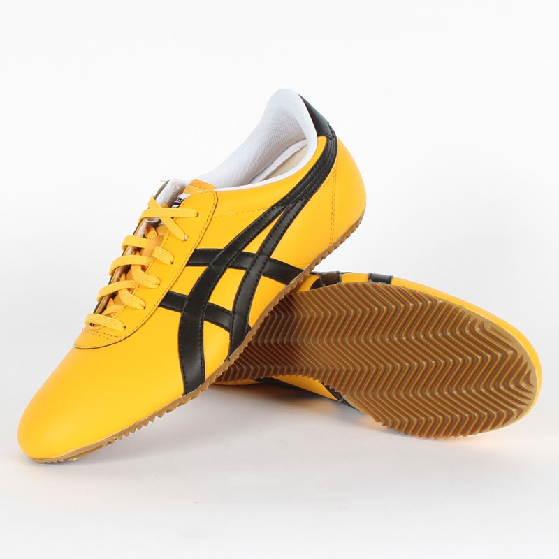 newest 51d3d ee59a Asics - Mens Onitsuka Tiger Tai Chi Le Shoes In Yellow/Black