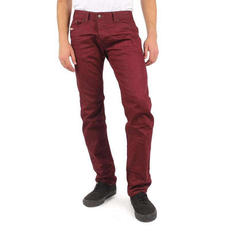 a581f58f Diesel - Mens Darron Slim Jeans in Maroon/Red