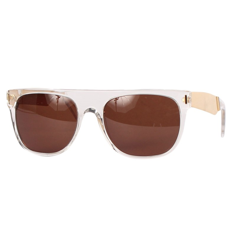 Super Flat Top Sunglasses Gold Super Sunglasses Flat Top