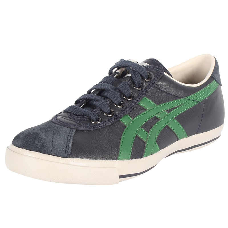 quality design ea911 20c02 Asics - Mens Onitsuka Tiger Rotation 77 Shoes In Dark Navy/Green