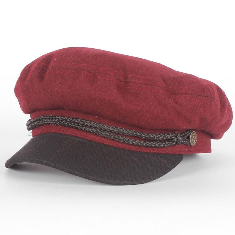 75339fb4e0106 Brixton. Brixton - Fiddler Hat in Burgundy
