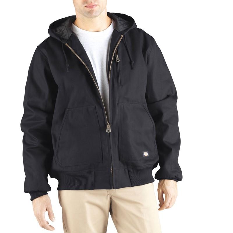 Dickies Mens Rigid Duck Hooded Jacket Big-Tall