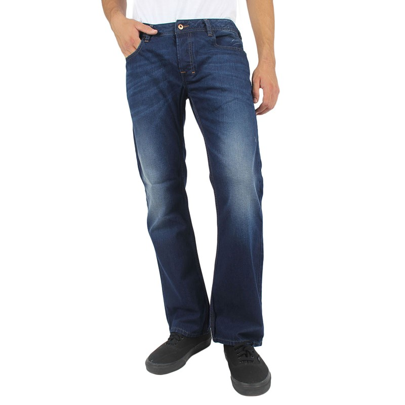 the latest size 40 factory authentic Diesel - Mens Zatiny Slim Bootcut Jeans, Color: 0818N