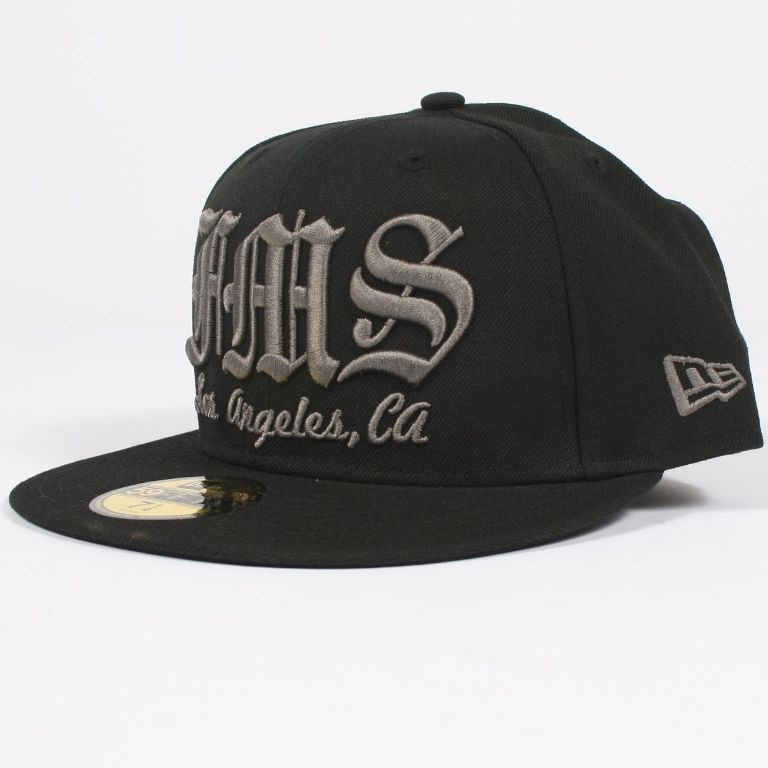 0f6928d726e630 Revolver New Era Fitted Hat in Black / Grey by Famous Stars and Straps