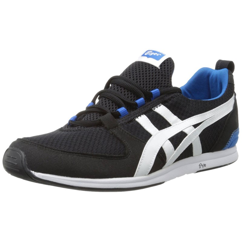 the best attitude 63119 fba94 Asics - Mens Onitsuka Tiger Ult-Racer Shoes In Black/White