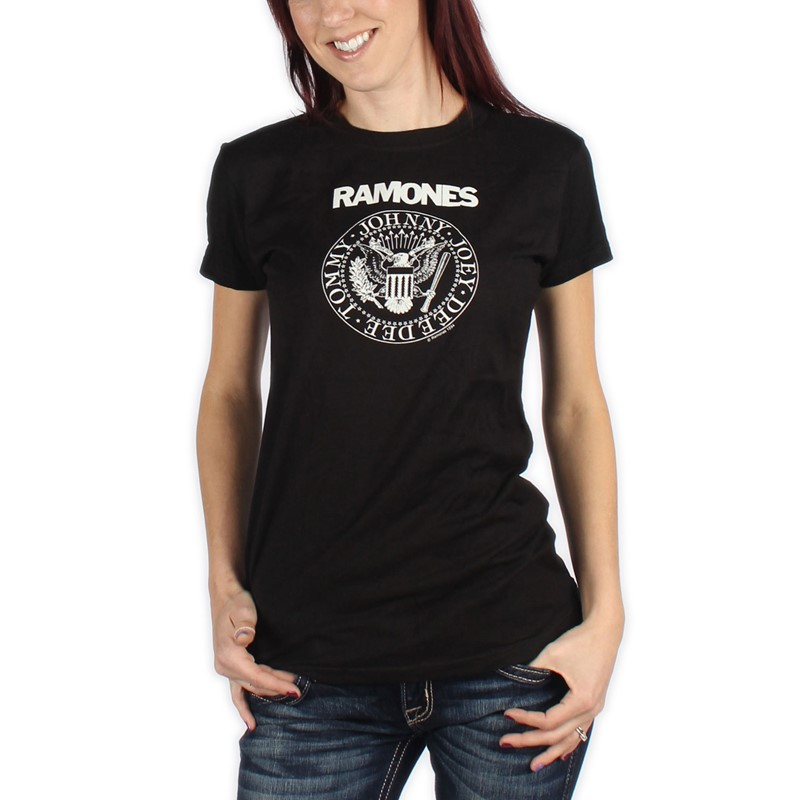 99e653b16 Ramones. Ramones Presidential Seal Women'S Junior / Girls T-Shirt