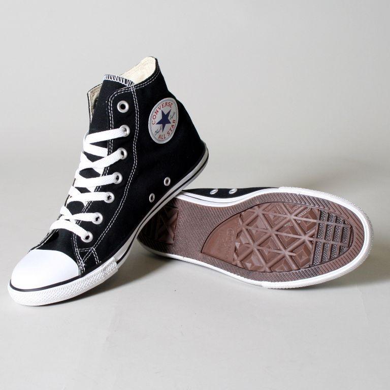 135212b3879951 Converse Slim Chuck Taylor Hi Top Shoes in Black (113893F)