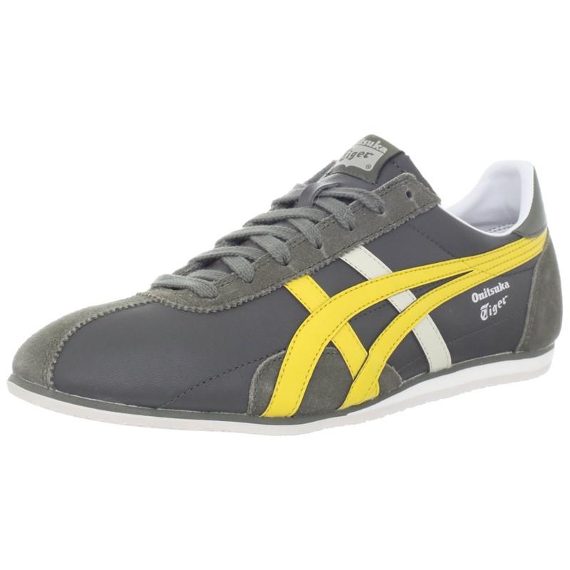 uk availability 1bc11 0f476 Asics - Mens Onitsuka Tiger Runspark Le Shoes In Khaki/Yellow