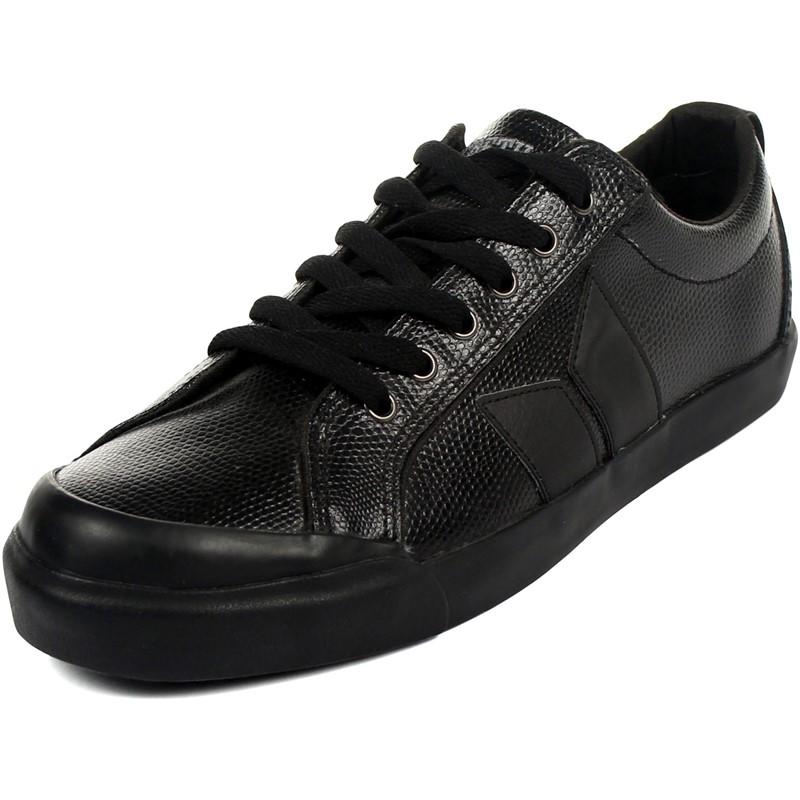 huge discount 58b64 c8c8a Eliot Premium Mens Shoes In Black Snake By Macbeth Footwear