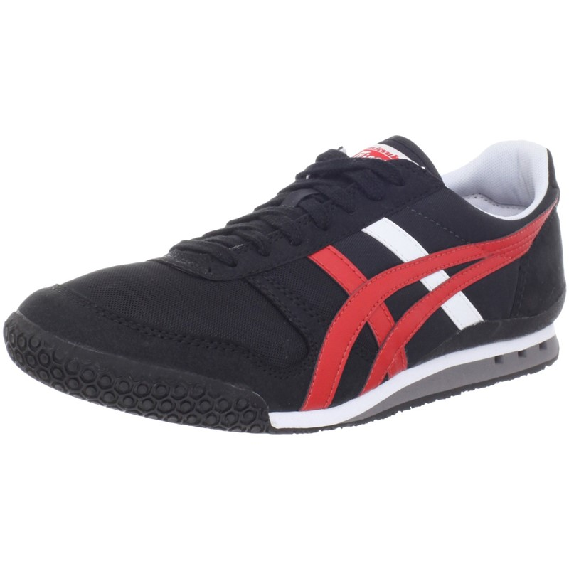 06eab058d5eb Asics. Asics - Mens Onitsuka Tiger Ultimate 81 Shoes In Black Fiery Red