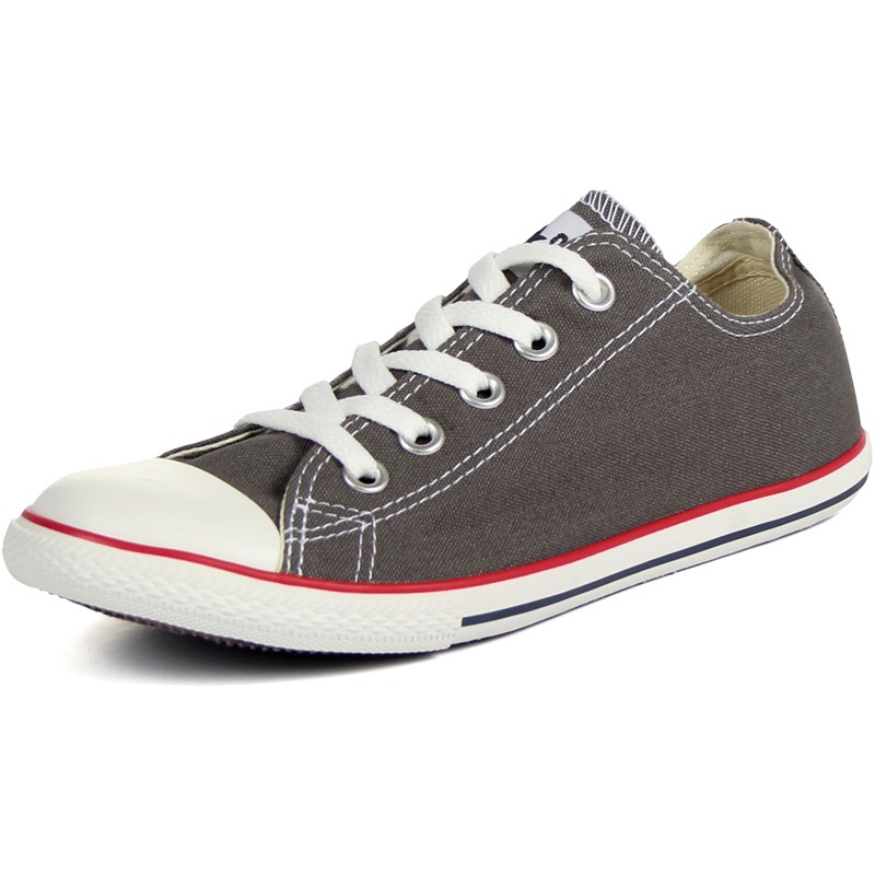 e1511c4a544 Converse. Converse Slim Chuck Taylor Low Top Shoes in Charcoal ...