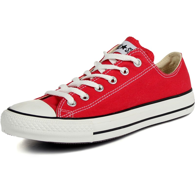 da6eed452a07 Converse Chuck Taylor All Star Shoes (M9696) Low Top in Red