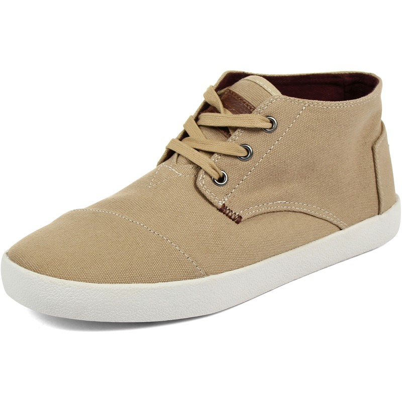 Toms - Mens Paseo Mid-Top Shoes In Tan
