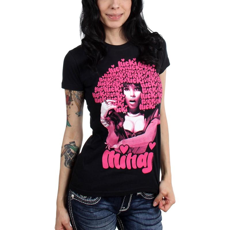 Nicki Minaj Womens Funk Wig T Shirt