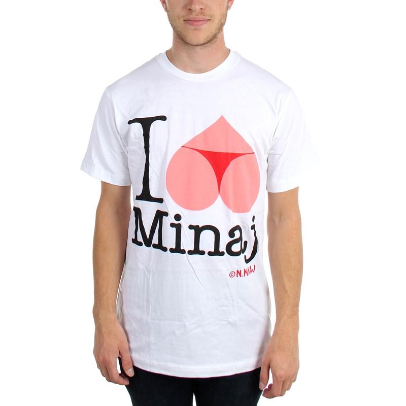 Nicki Minaj Mens I Heart Bottom T Shirt