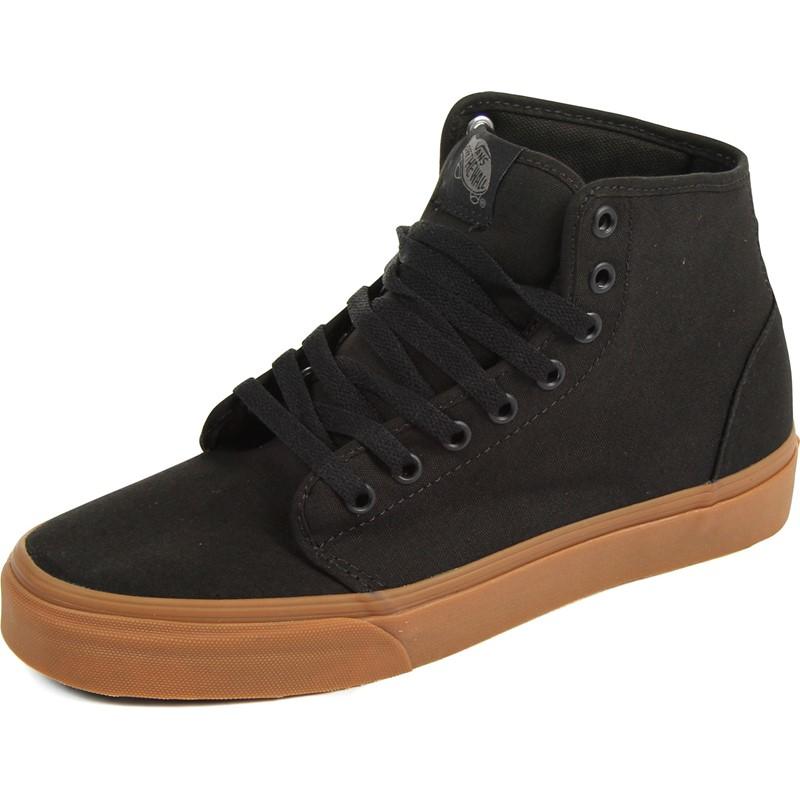 e064b08e18 Vans - Unisex 106 Hi-Top Shoes in Black Classic Gum