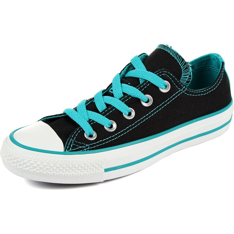 8af67f098d1c Converse. Converse Chuck Taylor All Star Double Tongue Womens Ox Shoes