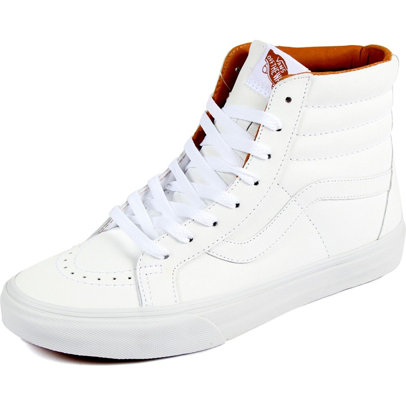 1f487691a0 Vans - Unisex Sk8-Hi Reissue Shoes in (Xtuff) True White Bran