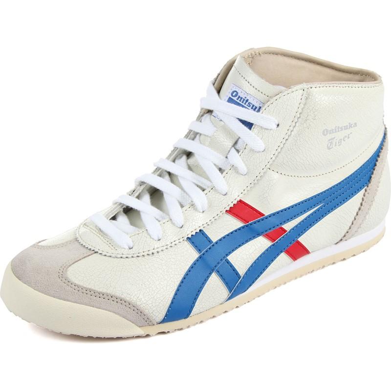 nouveau produit d4c9f 2b4ac Asics - Mens Onitsuka Tiger Mexico Mid Runner Sneakers