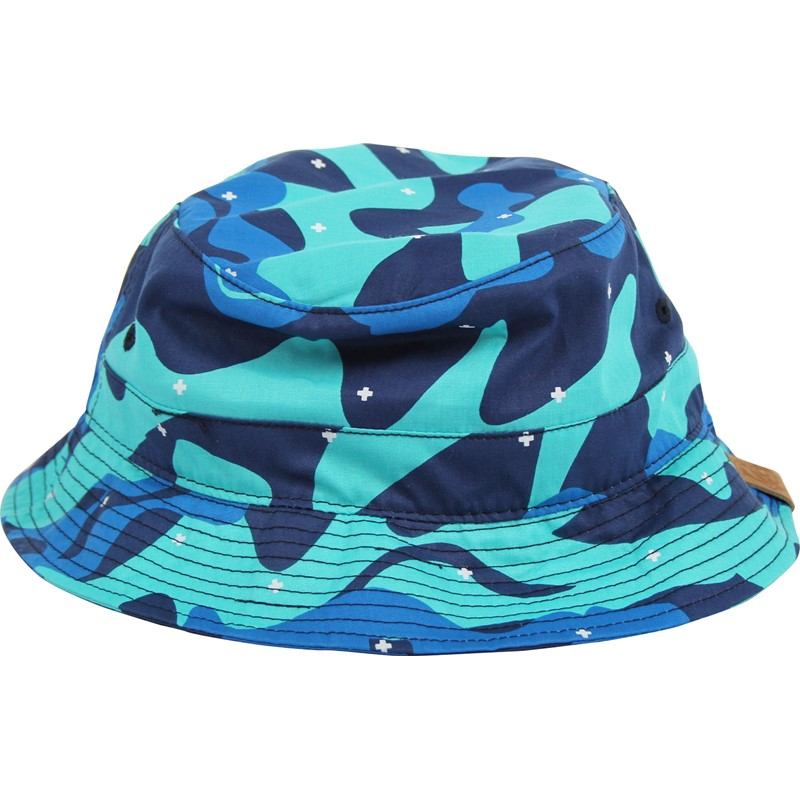 Pink Dolphin - Herringbone Cross Camo Bucket Hat 089725929935