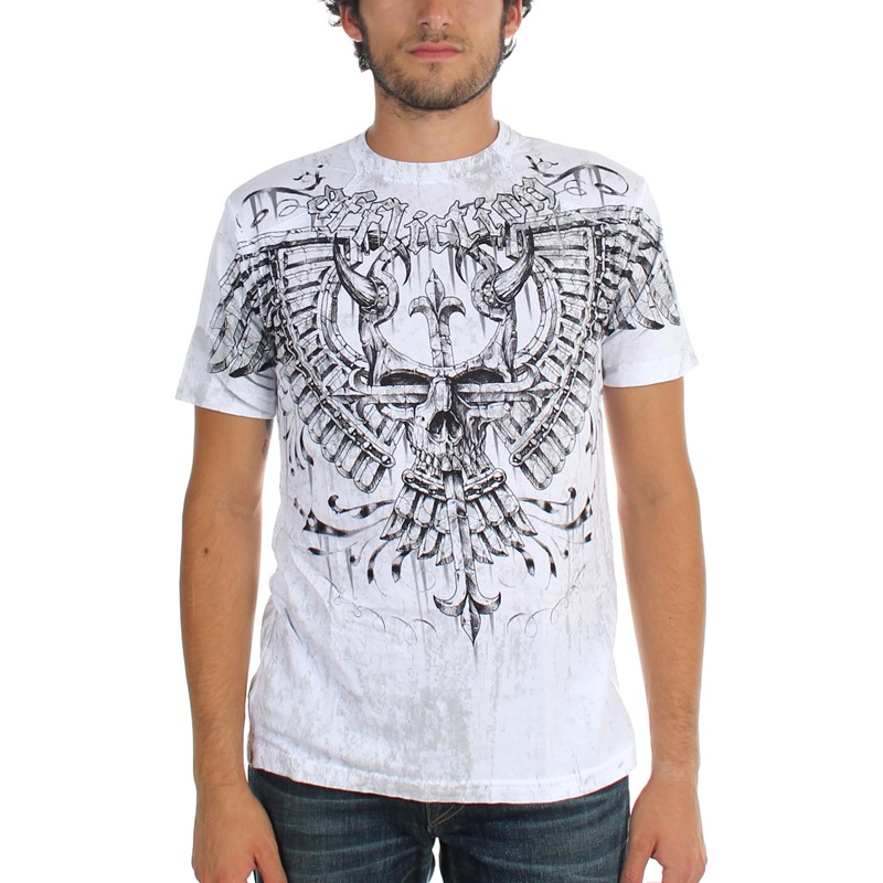 affliction mens lonsdale t shirt. Black Bedroom Furniture Sets. Home Design Ideas