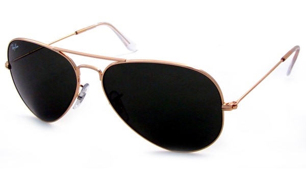 Gold Frame Aviator Glasses : RAY-BAN RB 3025 L0205 GOLD FRAME AVIATOR SUNGLASSES