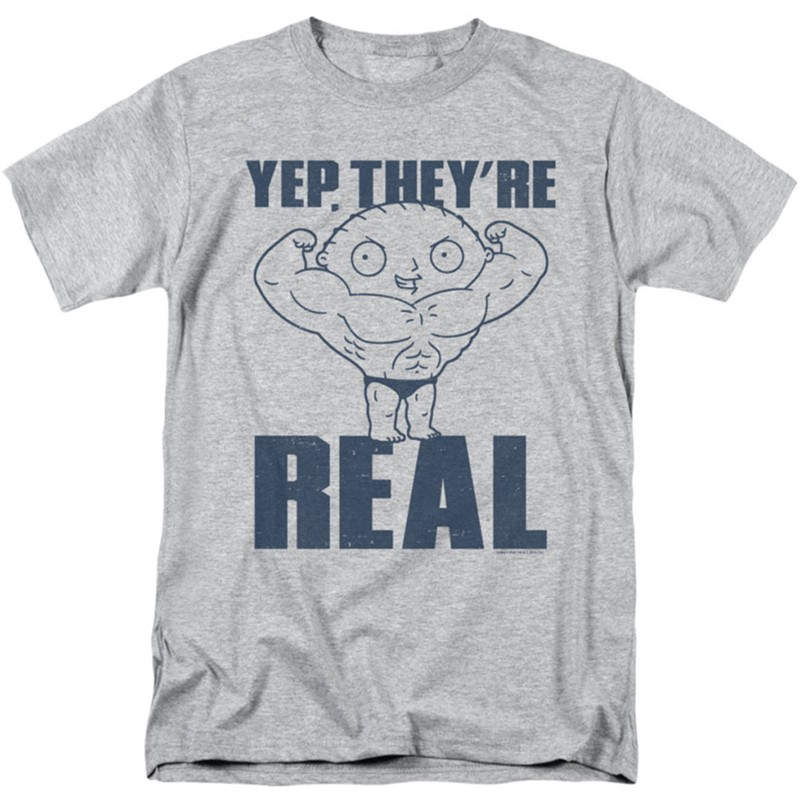 Family guy mens real build t shirt for Dress shirts for athletic build