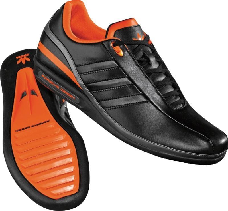 size 40 ac92d 6888e Adidas - Porsche Design Sp1 Mens Shoes In Black / Black / Orange
