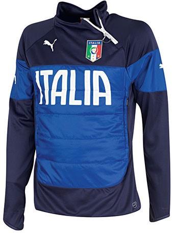 cheap for discount e7791 e7594 Puma - Mens Figc Italia Padded Training Top Jersey