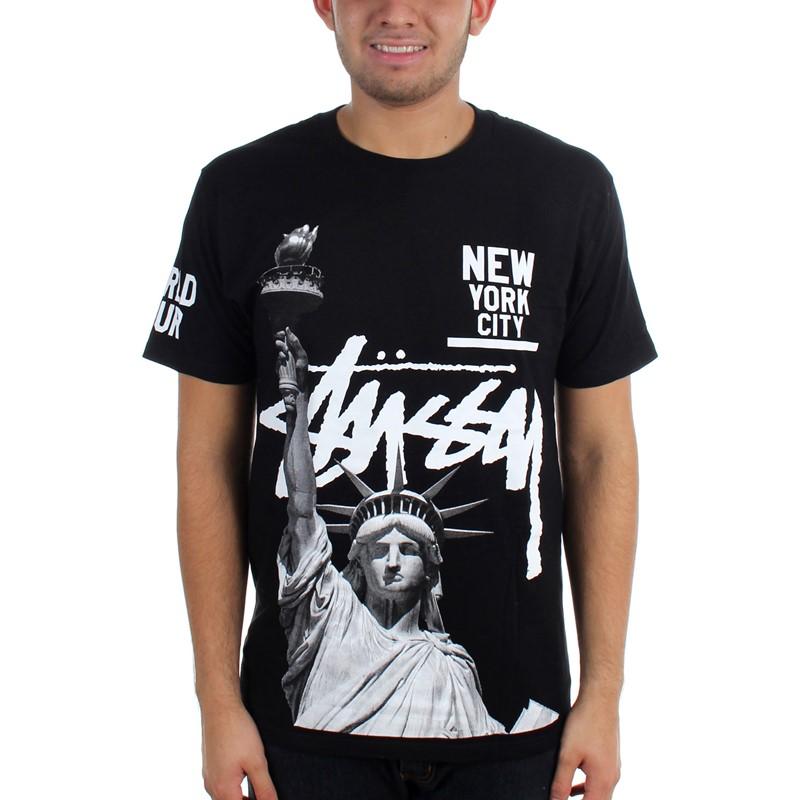 Stussy - Mens Liberty Nyc T-Shirt 483c6e0dc