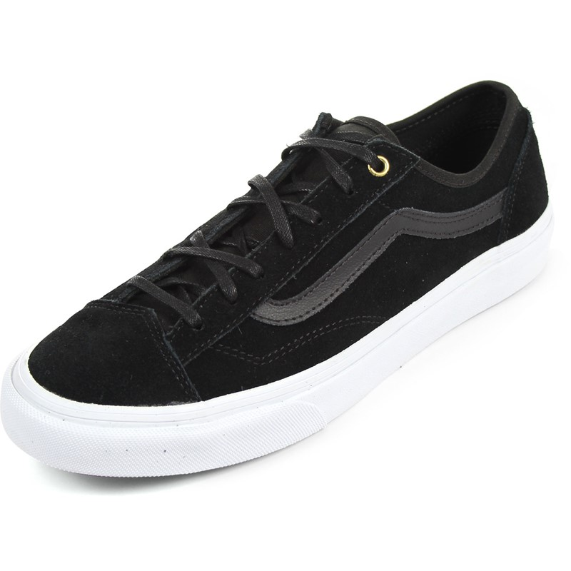 aa5da13ae4c2 Vans - Unisex Style 36 Slim Shoes in (Gold Pop) Suede Black